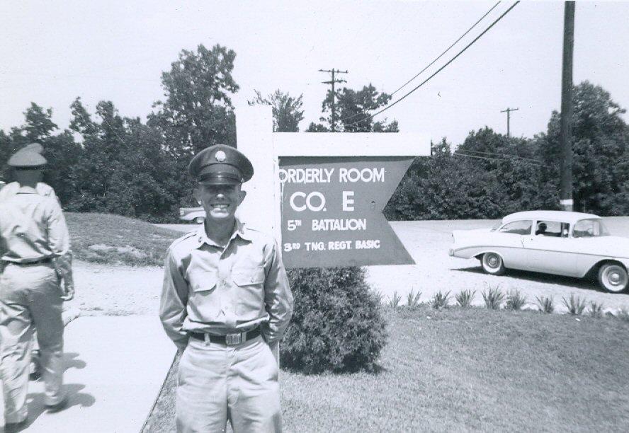 1960 Steve in Army
