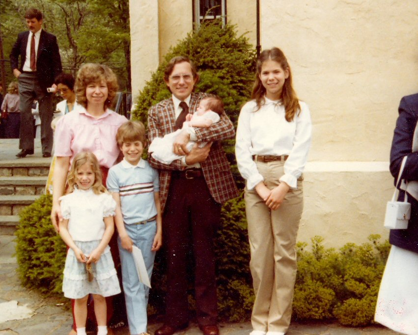 1981 Family Jeremy\'s first communion