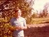 1983 Steve under orange tree