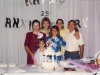 1989 Family at 25th wedding anniversary