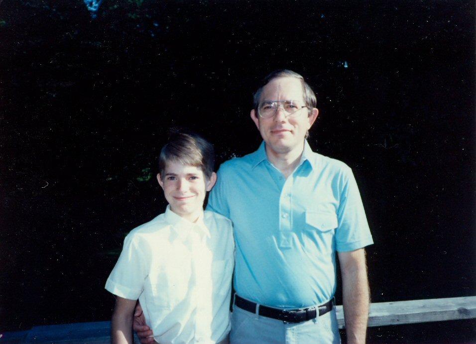 1985 Jeremy\'s sixth grade promotion