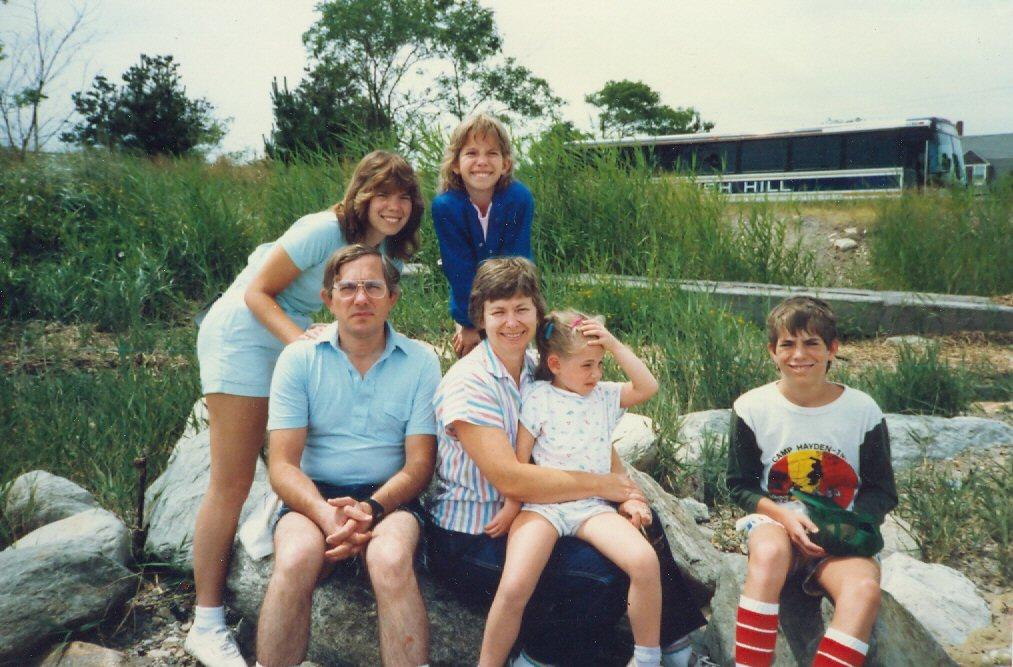 1986 Family at Cape Cod