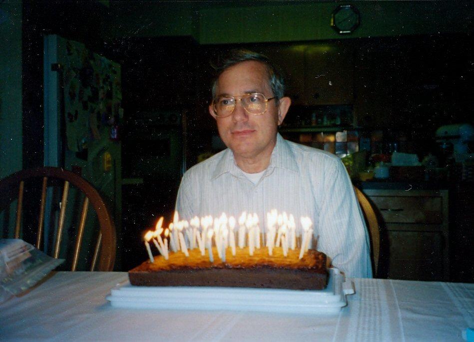 1994 Steve with birthday cake