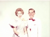 1962 Evy and Steve at prom